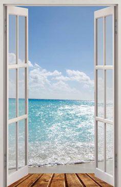 Fototapete f r t ren motiv dominicana beach ihr online for Tapeten katalog bestellen