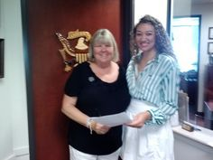 Bev delivers Syria Educate Congress letter to Rep Jim Costa's office (CA-16)