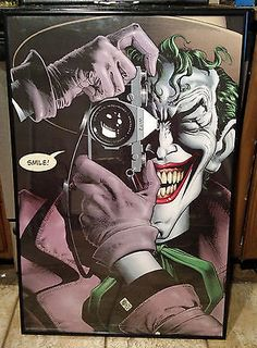 "#Batman the #killing joke rare original 24"" x 36"" poster 2004 #joker dc comics,  View more on the LINK: 	http://www.zeppy.io/product/gb/2/112083947315/"