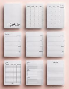 Discover recipes, home ideas, style inspiration and other ideas to try. 2017 Planner, Agenda Planner, Study Planner, Free Planner, Goals Planner, Blog Planner, Planner Pages, Weekly Planner, Planner Inserts