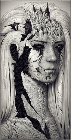 Echo by Alexander Fedosov, amazing Ukranian digital artist