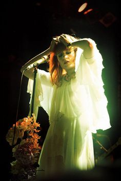 """Florence Welch """"I love seances, witchcraft, heaven and hell, voodoo, gospel, possession, demons, exorcism and all that stuff. . . . I'm not a religious person. Sex, violence, love, death, all the topics that I'm constantly wrestling with, it's all connected back to religion."""""""