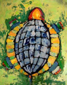 Experiments in Art Education: Painted Faux Batik