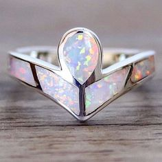 Angel Opal Ring || Available in our 'Mermaid' and 'Bohemian' Collections || www.indieandharper.com