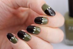 studded nail designs - Google Search