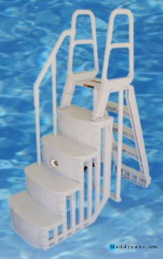 Swimming pool swimming pool steps inground retrofit swimming pool ladders stairs replacement - Above ground pool steps for handicap ...