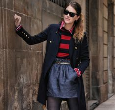NAVY + RED - My Daily Style