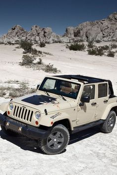 He's the one for me! JEEP