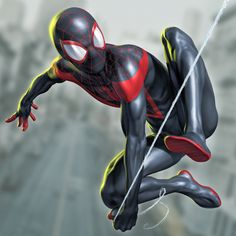 Spider-Man (Miles Morales) by Chris Wahl