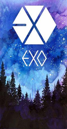 Kpop Exo, Exo Chanyeol, Exo Anime, Exo 12, Exo For Life, Kpop Backgrounds, Cute Tumblr Wallpaper, Exo Lockscreen, Exo Korean