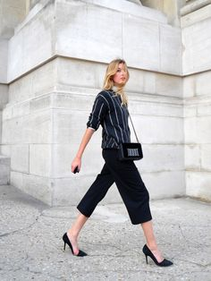You've seen the midi skirt, now we introduce the midi trouser! A perfect wardrobe staple for anyone looking for understated chic.