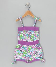 Peace romper from Hot Kiss on #zulily today!