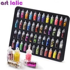Nail Art Rhinestones, Glitter Nail Art, 3d Nail Art, Nail Art Tools, Glitter Dust, Art 3d, Powder Manicure, Nail Manicure, Gel Nails