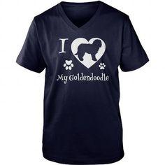 I LOVE MY GOLDENDOODLE DOG GOLDEN RETRIEVER DOG POODLE DOG TSHIRT V-NECKS TEE (==►Click To Shopping Here) #i #love #my #goldendoodle #dog #golden #retriever #dog #poodle #dog #tshirt #v-necks #Dog #Dogshirts #Dogtshirts #shirts #tshirt #hoodie #sweatshirt #fashion #style