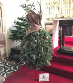 Thank you so much for creating such wonderful tutorials - so easy to follow & helped me create a tree I am really proud off.  I combined the info for the wire form & the full skirt to create my 'Country Lady' who is currently in situ at my local church for their Christmas Tree Festival.  Teri-Ann S. Devon, UK