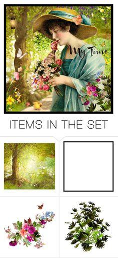"""""""kleuren van de lente"""" by groen ❤ liked on Polyvore featuring art"""