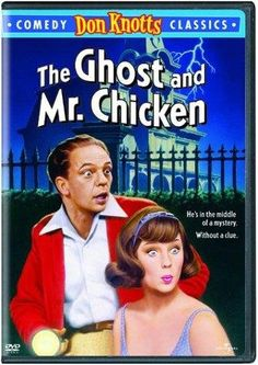 The Ghost and Mr. Chicken. I use to watch this all the time when I was little. Now I can't find it anywhere.