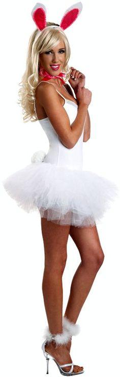 Romantic Lace Bunny Adult Costume Kit