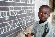 School boy in Ghana. Kids Around The World, We Are The World, Precious Children, Beautiful Children, Little People, We The People, Traveling Teacher, Finding Treasure, African Children