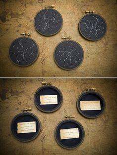 zodiac embroidery