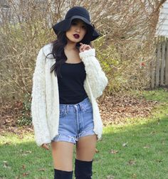 A Style Love Affair: shorts in the winter
