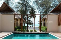 'Anemone Fish' is one of the three beachfront bungalows with private pool at Peter Pan Resort (Koh Kood, Thailand)
