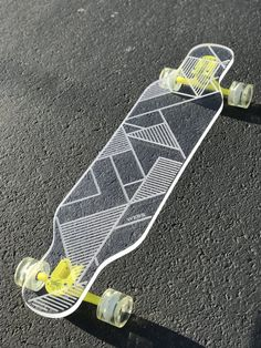 This board is super cool and I need it in my life Painted Skateboard, Skateboard Deck Art, Penny Skateboard, Electric Skateboard, Skateboard Design, Longboard Design, Skate Shop, Cool Skateboards, Longboarding