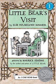 Little Bear's Visit by Else Holmelund Minarik, illustrated by Maurice Sendak Best Children Books, Toddler Books, Childrens Books, Maurice Sendak, I Can Read Books, Mother Bears, Long Books, Fallen Book, Halloween Books