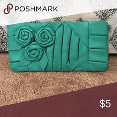 Black poppy clutch Black poppy clutch Black Poppy Bags Clutches & Wristlets