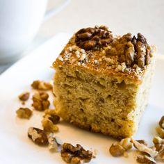Bögrés diós szelet, egy csodás süti amit bárki el tud készíteni!