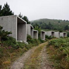 Architecture Portfolio by Juan Carlos Quindós de la Fuente, via Behance