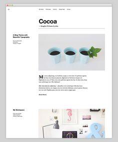 Very nice #responsive premium #WordPress theme from Elma Studio - Cocoa