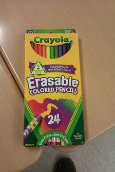 That the opening on the front of this Crayola box is smiling. | 26 Things You Probably Never Noticed That Will Blow Your Mind