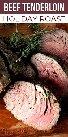 This Whole Beef Tenderloin Roast Recipe is the ONLY recipe you need this holiday season! Get my secret to making this memorable holiday dinner! With the proper tools you CAN make an impressive holiday roast like this Whole Beef Tenderloin. Christmas dinner will make a big impression this year! #SundaySupper #roastperfect #bestangusbeef #holidaydinner #christmasdinner #easyrecipe #roastbeef #beeftenderloin #filetmignon via @thesundaysupper Perfect Beef Tenderloin, Beef Tenderloin Roast, Beef Fillet, Roasted Beef Tenderloin Recipes, Oven Roast Beef, Christmas Roast, Christmas Dinners, How To Cook Beef, Roast Recipes