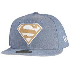 New Era 59Fifty Cap - CHAMSUEDE SUPERMAN denim 77f06b2664d