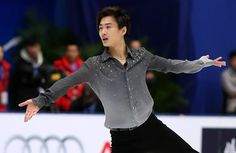 Three-time Chinese national figure skating champion Nan Song officially announced his retirement on April 4, 2016.