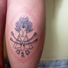 #tattoofriday - Tereza Dequinta, Brasil;