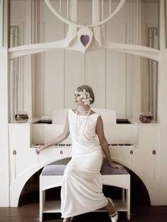 Vestido de Lindsay Fleming