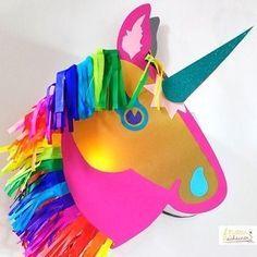 """Laterne Einhorn und Pferd """"Happy Unicorn"""" - Bastelanleitungen bei Makerist"""