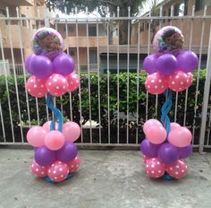 Doc Mcstuffins balloon decor