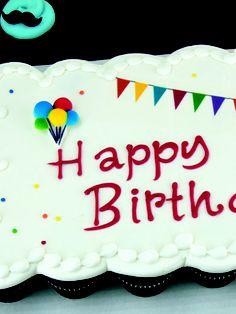 Carnival Cupcake Cak