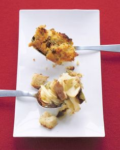 Apple Stuffing, Recipe from Everyday Food, November 2003