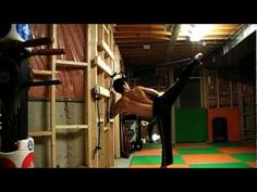 How to Strengthen your legs for power kicks - YouTube