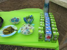Monsters University party - easy to use these ideas!