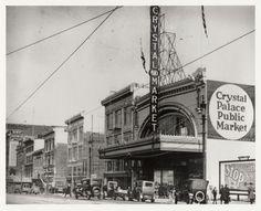 Photo of Crystal Palace via SAN FRANCISCO HISTORY CENTER, SAN FRANCISCO PUBLIC LIBRARY.