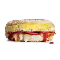 The Pizza-in-a-Muffin Special | MyRecipes.com