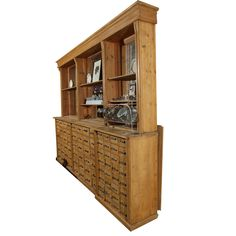 Pine Apothecary | From a unique collection of antique and modern apothecary cabinets at https://www.1stdibs.com/furniture/storage-case-pieces/apothecary-cabinets/