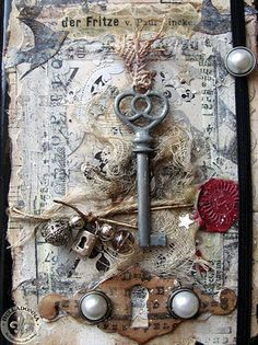 Why haven't I found these sooner!? altered tag Altered book cover idea
