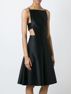 Solace cut-out detail dress