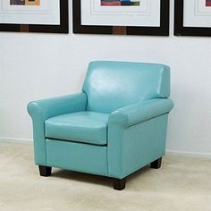 Turquoise Leather Chair | One Kings Lane   Elite Leather Company   Hyde  Barrel Chair, Turquoise | Products I Love | Pinterest | Barrels, Kings Lane  And Sofa ...